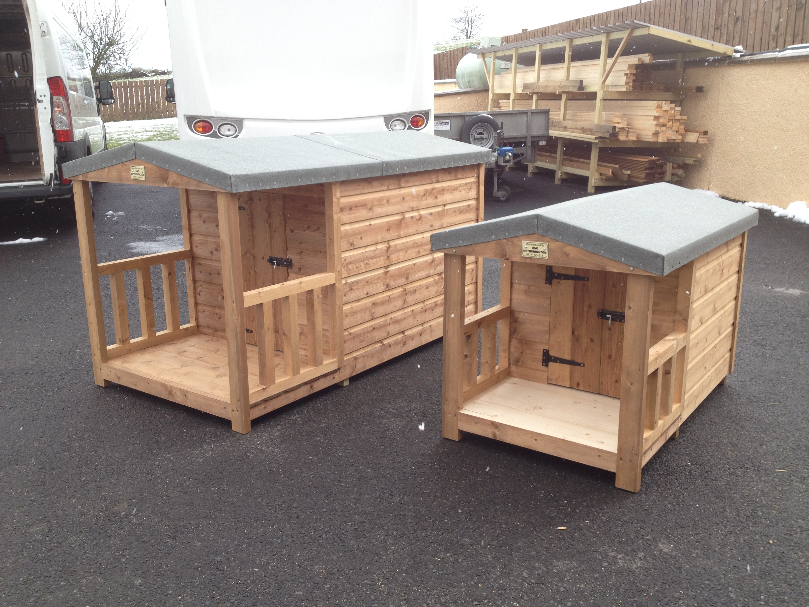 Dog Kennels for clients all over Ireland