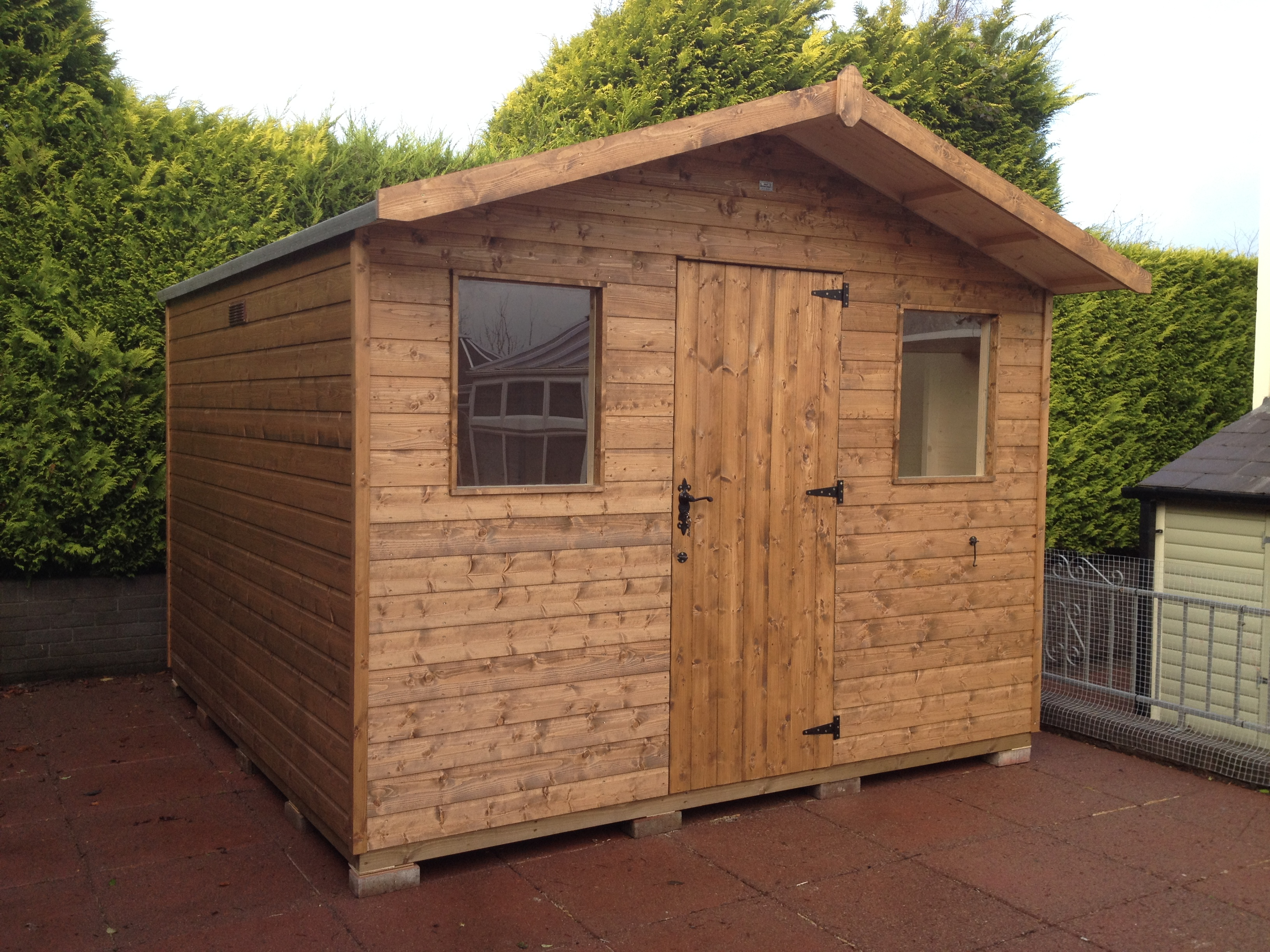 Garden Shed for a customer in Omagh