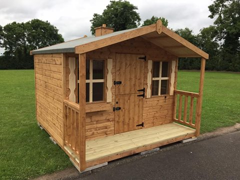 Playhouse recently completed for a local school.